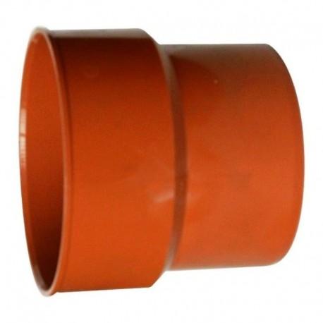 TRAPER DO RUR PRZEJŚCIE Z ŻELIWA NA PLASTIK 125x110 MM POMARAŃCZOWY OPAKOWANIE 4 SZT