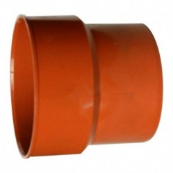 TRAPER DO RUR PRZEJŚCIE Z ŻELIWA NA PLASTIK 175x160 MM POMARAŃCZOWY OPAKOWANIE 2 SZT